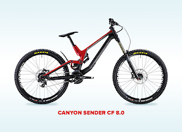 This Canyon Sender CF 8.0 Needs a New Home