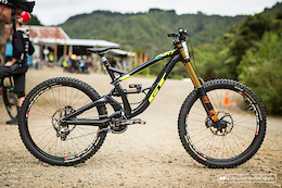 Wyn and Brook's GT Fury DH Bikes - NZ National Round 1
