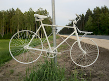 Ghostbike #2in Latvia