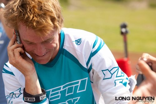 Stoked and calling friends about the win!