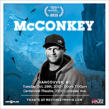 McConkey Movie Premiere in Vancouver and Whistler