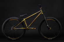 Sam Pilgrim's Gold Bike