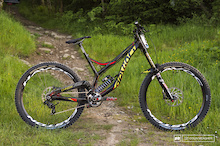 Steve Smith's Prototype Devinci - Fort William DH World Cup