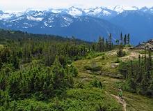 More Biking in North Central British Columbia