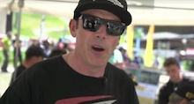 Video: Rob Warner's Meribel Qualifying Chit Chat