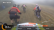 Video: Ten Rider Downhill Race - Pinnacle Champs Helmet Cam