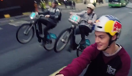 Video: Boris Bike Bombing