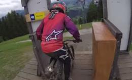 Helmet Cam: Danny Hart Ripping Apart Schladming