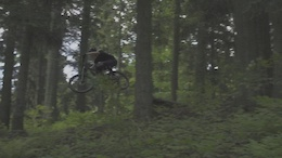 Video: Wojtek Czermak Shredding his Local Trails