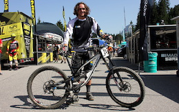 Bike Check: Wyn Masters' Bulls - World Cup DH, Lenzerheide
