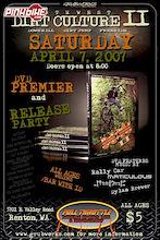 April 7 - Northwest Dirt Culture II Premier / Release Party