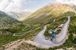 Hans Rey and Danny MacAskill Ride the new Livigno Trails