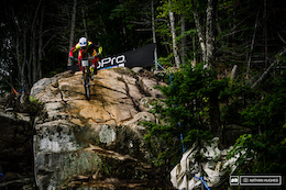 Photo Epic: Canadian Slip and Slide - Mont Sainte Anne World Cup DH, Qualifying