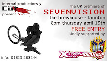 The CUT and Internal Productions are  proud to announce the UK premiere of SEVENVISION.