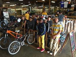 The Lumberyard Gives Kick Start To Community Cycling Center's Holiday Bike Drive