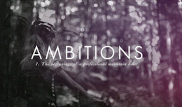 Ambitions, Featuring Emily Batty - Video