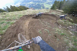 Railing Ruts in Champéry with Nico Vink and Friends - Video