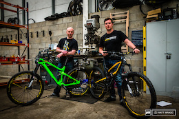 From the Top: Dale McMullen and Ali Beckett of Vitus and Nukeproof Bikes