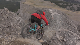 Big Mountain Riding Way Above the Alpine - Video