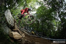Josh Bryceland's Helmet Cam - Mont-Sainte-Anne DH World Cup 2016