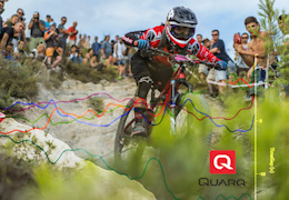 Chasing Figures at the EWS: Quarq Race Intelligence - Video