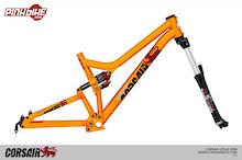 Corsair Bikes unveils the new Konig-Slopestyle Frame
