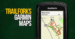 Trailforks Basemap for Garmin