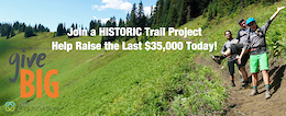 GiveBig Today and Fund Two New Trails Projects in Washington State