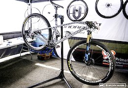 Carlos Coloma's New Mondraker Revealed - Mont-Sainte-Anne XC World Cup 2017