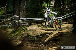 Mont-Sainte-Anne DH World Cup Qualifying Highlights - Video