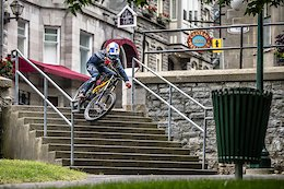 Purest Line: Finn Iles Riding DH Through Quebec City - Video