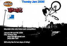 Attn Alberta riders! Thorsby Jam 2008 - January 5th and 6th