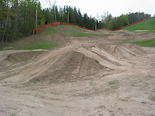 Ontario - Chicopee Bike Park gets a HUGE Jump Start!