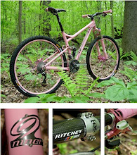 Speedgoat Pink Bike 2008-Raffle