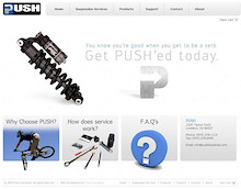 Push Industries new web site