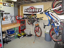 Building a home bikeshop - Part 2
