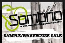 Sombrio Warehouse Sale! Starts Tomorrow!