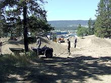 Jay Hoot's bike park taking shape in Williams Lake, BC