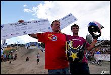 Greg Watts And Darren Berrecloth Win VW Crankworx Best Trick Comp!