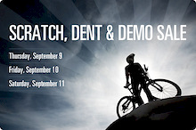 Scratch, Dent and Demo Sale and Contest!