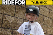 I Ride for Tyler Blick at Highland Mountain