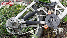 Saint Cranks and Rear Derailleur-Abused by Tyler