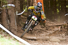 Brook MacDonald wins the iXS European Downhill Cup in Todtnau