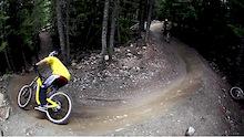 Mark & Reece Shred the Whistler Bike Park - Video