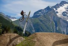 Results: iXS Slopestyle Qualifying - Crankworx Les Deux Alpes