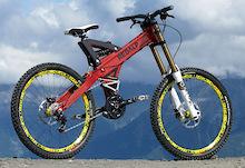 Redalp Downhill Bikes 2012