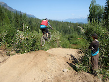 Kicking Horse Bike Park - Trail Crew Update #5 - 2012