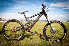 Roc D'Azur 2012: Cavalerie DH Gearbox Bike