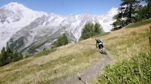Video: Matt Hunter Tours Mount Blanc
