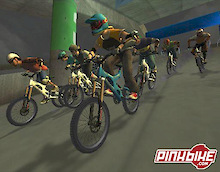 First-Ever Downhill Mountain Bike Racing Game